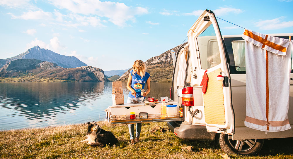 Camper Aussenküche