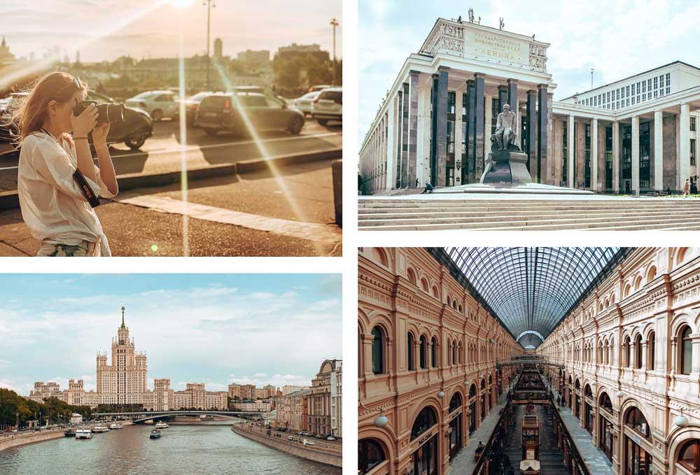 Moskau-Impressionen