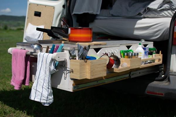 Camper Außenküche