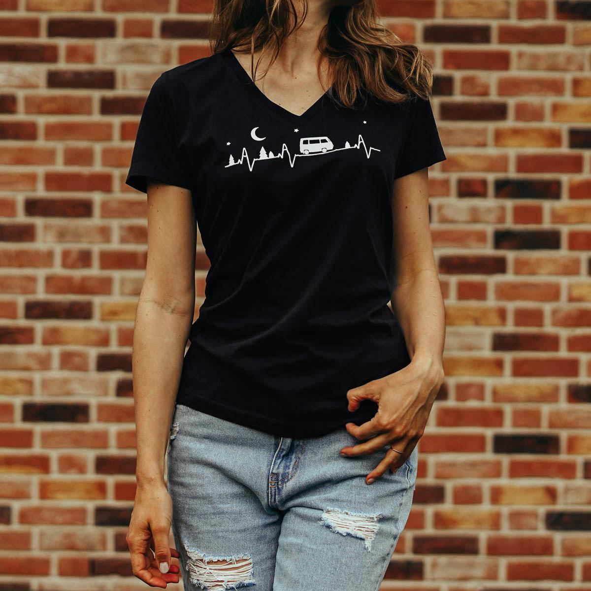 T-Shirt Van Life Herzschlag