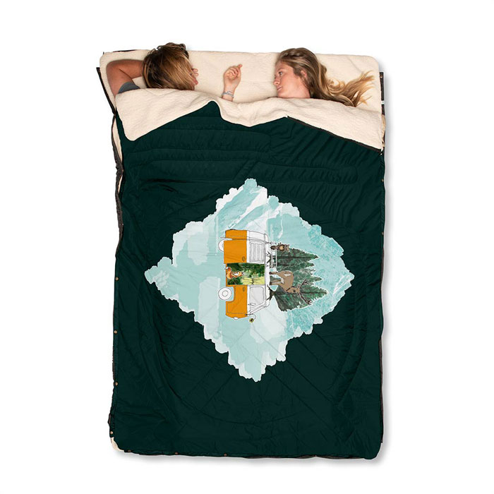 voited-cloudtouch-camping-double-sleep-sac-vanlife-forest-vanilla-icedreamweb
